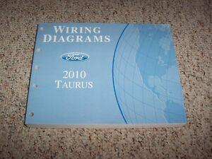 2010 ford taurus electrical wiring diagram manual se sel. Black Bedroom Furniture Sets. Home Design Ideas