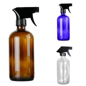 250-500ML-EMPTY-GLASS-SPRAY-PUMP-BOTTLE-ESSENTIAL-OIL-CLEANER-CONTAINER-FILL