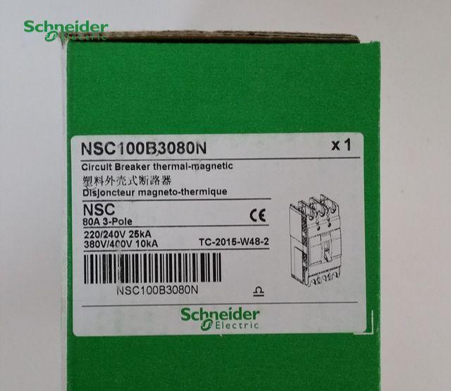 NSC100B3080N 1PC New Schneider breaker      LRR