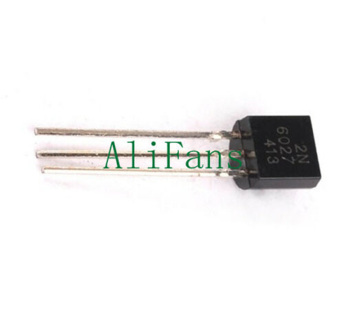 3PCS 2N6027 6027 TRANS PROG UNIJUNCT 40V TO92