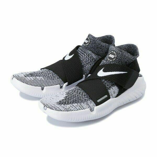 Nike Free RN Motion FX 2018 Black White Oreo Mens Sizes Running shoes 942840-001