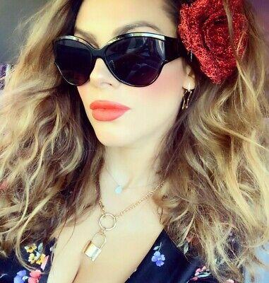 "Women Sunglasses XXL OVERSIZED /""KATE/"" Aviator Flat Top Square Shadz GAFAS"