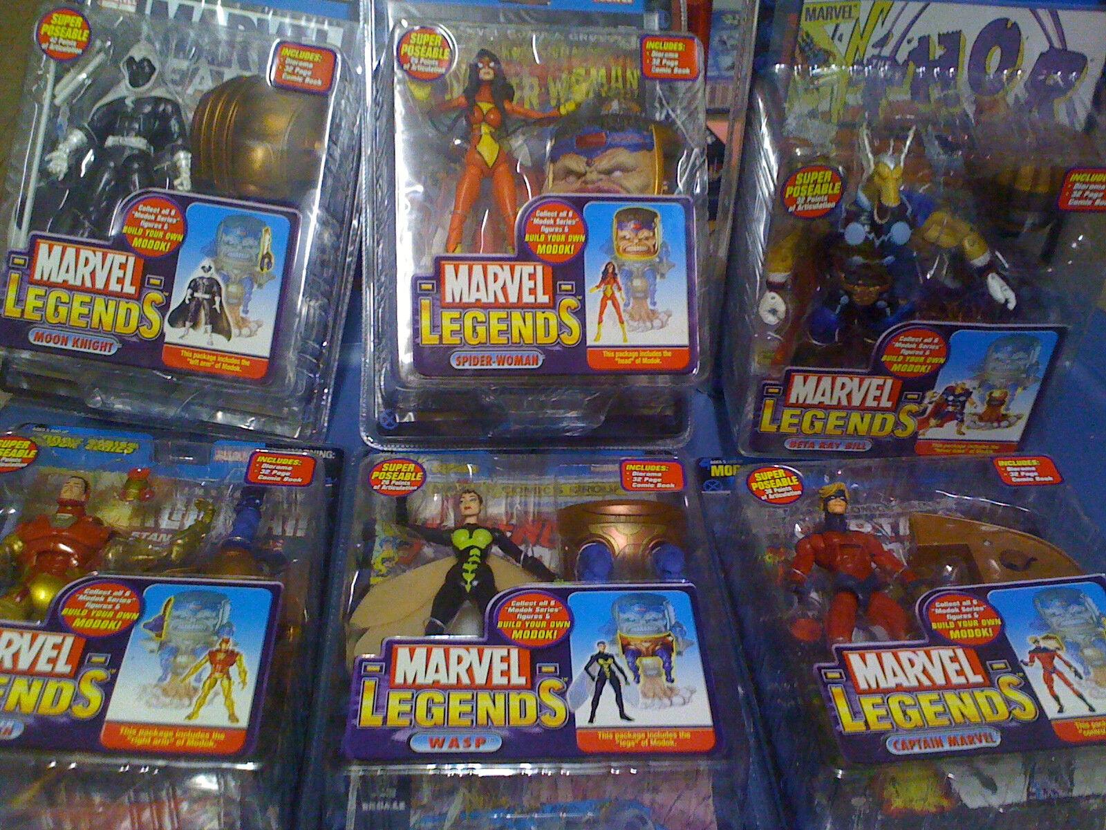 Marvel Legends MODOK Series Set Of 6 BAF Figures NEW FREE SHIP US