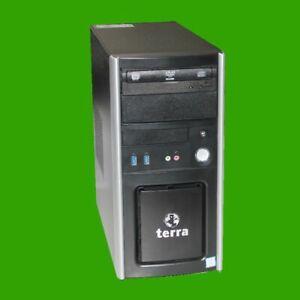 Terra Midi Tower I5-6400  8 GB RAM 256 GB SSD DVD Brenner WIN 10 Pro Quad Core