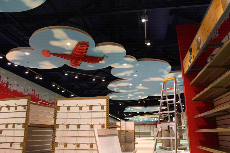 Wall art, murals and signage, paint effects