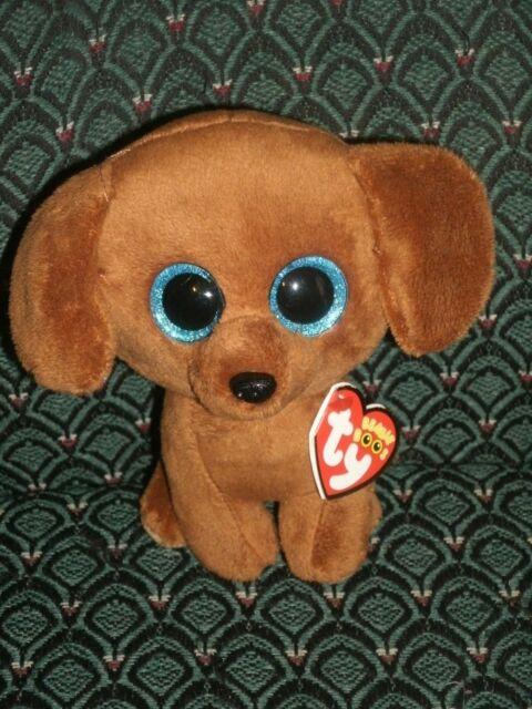 Ty Beanie Boos Dougie The Dachshund Dog With Tags Birthday Dec 20 ... 31e4ed07553e