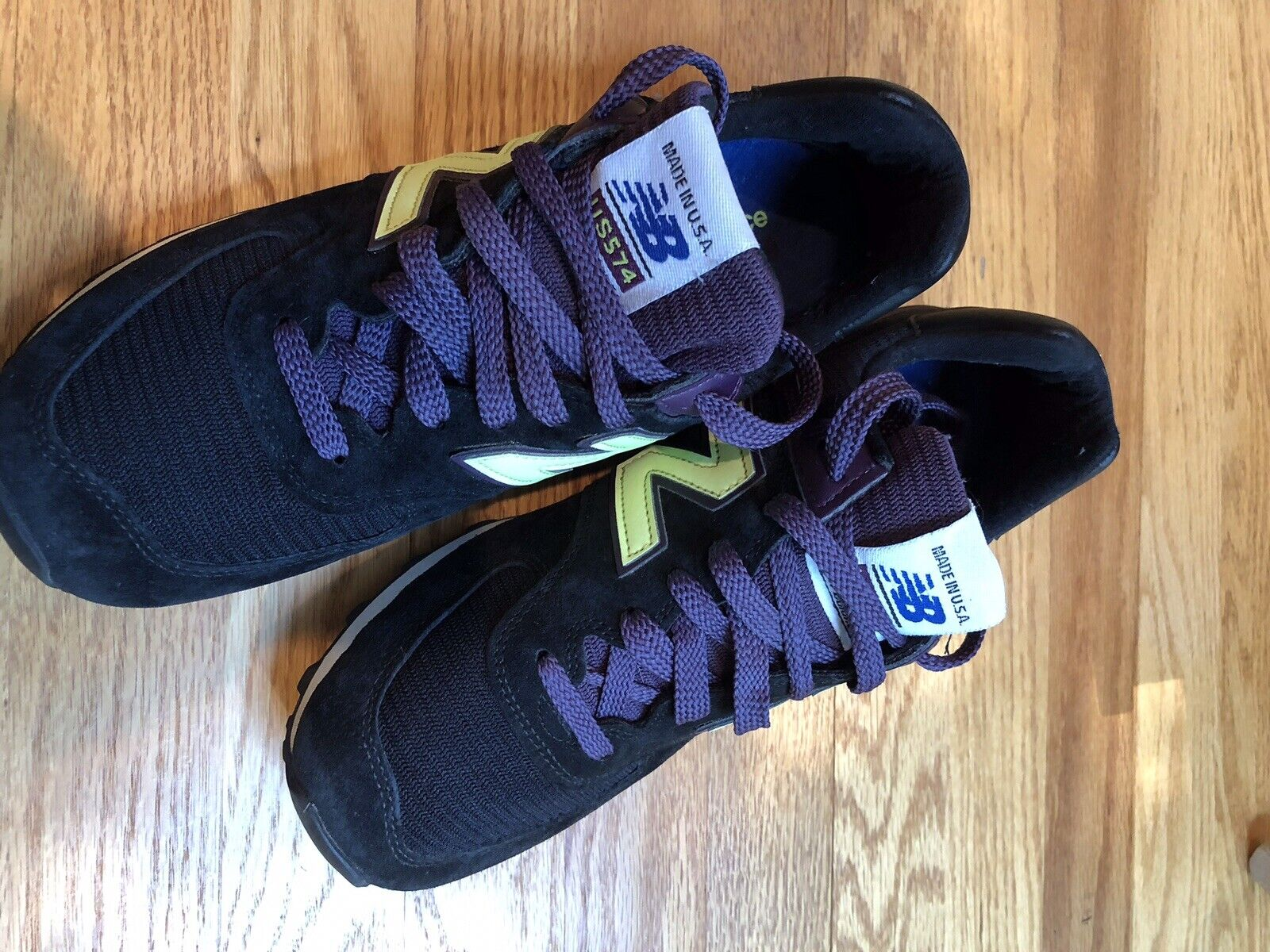 New Balance 574 Mens Pre Owned In Excellent Condition