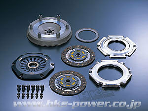 HKS LA TWIN PLATE CLUTCH FOR Impreza WRX GDB (EJ207)
