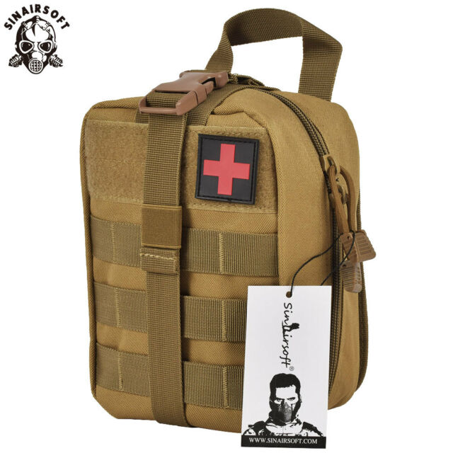 Tactical First Aid Survival Rescue Kit Molle EMT Emergency Pouch Bag Medical CB