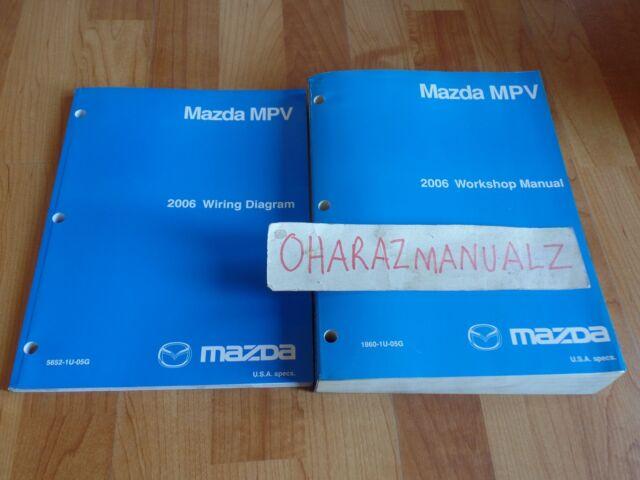 2006 Mazda Mpv Service  U0026 Wiring Diagrams Manuals Manual
