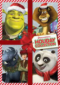 4-DVD-SET-KUNG-FU-PANDA-HOLIDAY-DRAGONS-HOLIDAY-MERRY-MADAGASCAR-SHREK-THE-HALLS