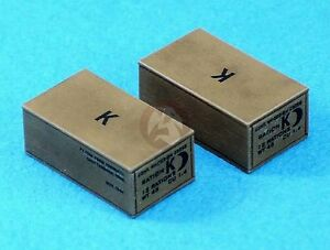 Legend 1 35 Us Army K Ration Box Set Wwii 8 Pieces With Decal Lf1301 Ebay