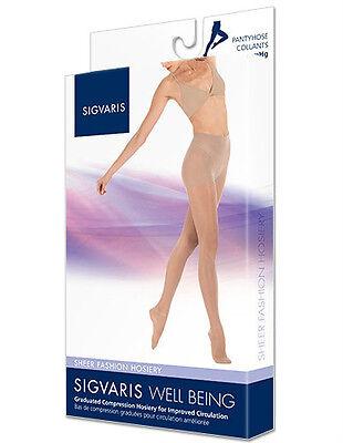 Sigvaris 120P Sheer Fashion 15-20 mmHg Pantyhose