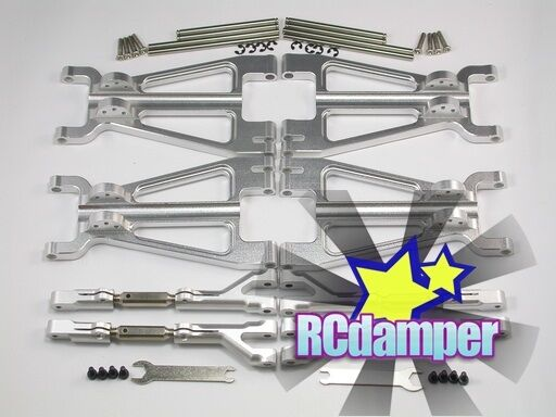 ALUMINUM davanti REAR UPPER LOWER ARM S HPI HPI HPI 1 8 SAVAGE 21 25 SS 4.6 5.9 FLUX X XL fc2f4f