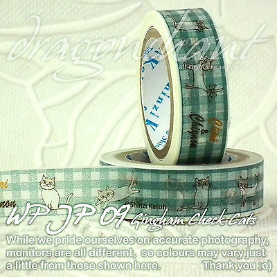 Paper Washi Tape Masking Tape Adhesive Roll Decorative Card Craft Trim Japanese