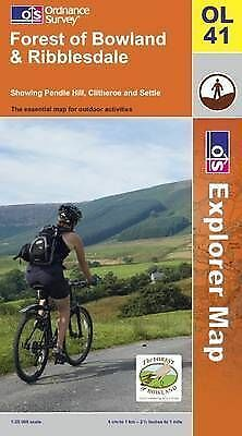Forest of Bowland and Ribblesdale (OS Explorer Map), Ordnance Survey, Good, Map