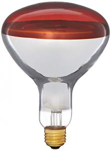 Heat Lamp 250 Watt R40 Flood Light Bulb Bathroom Medium Base
