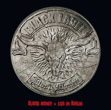 BLACK LABEL - BLOOD MONEY+LIVE IN BERLIN 2 CD NEU