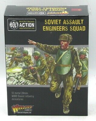 28mm Bolt Action blister Warlord Games Soviet assault engineer squad
