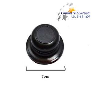 POMELLO-MANIGLIA-COPERCHIO-PENTOLA-PLASTICA-7cm-RICAMBIO-KNOB-COVER-VITE-DA-6mm