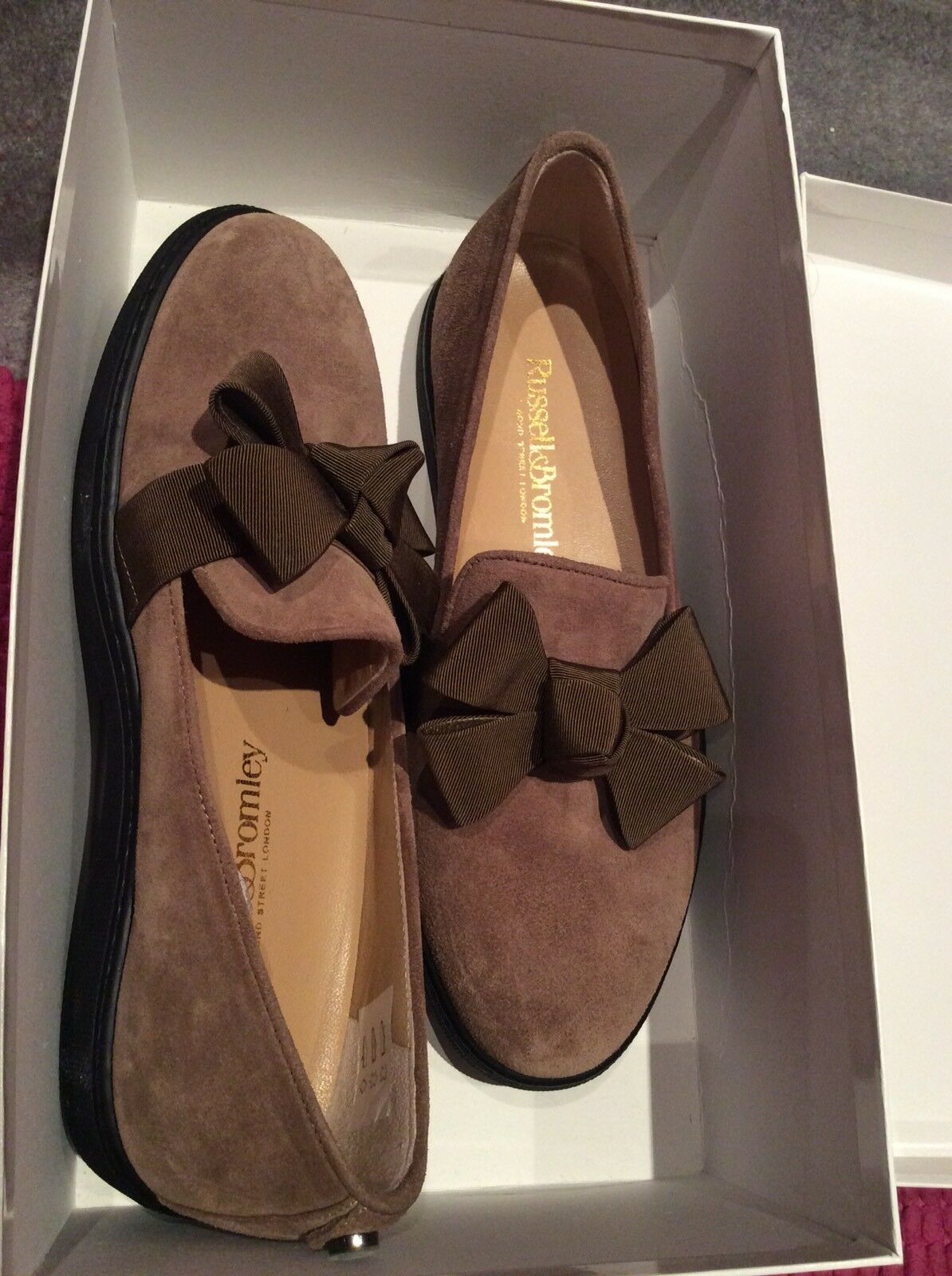 Russell & Bromley - Size 37 - Size 4 - Rrp  - Brown