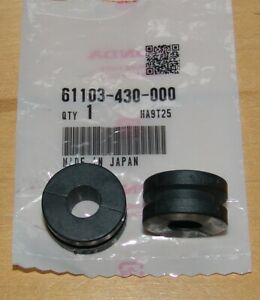 OEM HONDA FENDER//BATTERY BOX//TANK//TURN SIGNAL//FAIRING MOUNTING RUBBER GROMMET 2