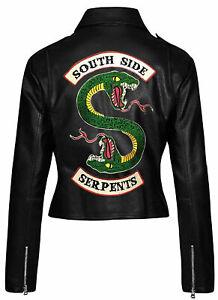 Riverdale South Side Serpents Women Fluorescent Hoodie Jughead Jones