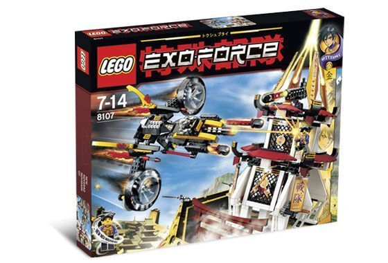 LEGO EXO-FORCE 8107 nuovo - Fight for the  oroen Tower - ANNO 2007  clienti prima reputazione prima