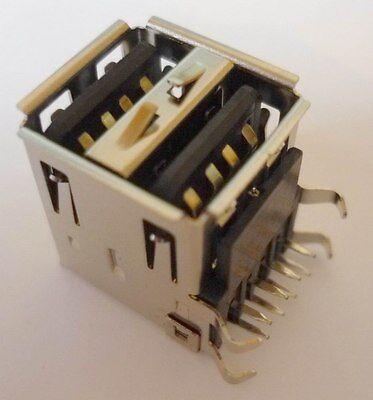 Utile Usb Installazione Presa 2 Volte A Situati Print Connettori Montaggio Frizione Lötbuchse-