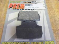 Premier Brake Pads Yamaha SJ600 Seca II FZ600 FZR400 SRX250 SRX600 1986-92 FA104