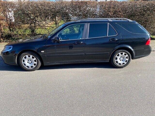 Saab 9-5, 2,0 t Linear SportCombi Hirsch aut, Benzin