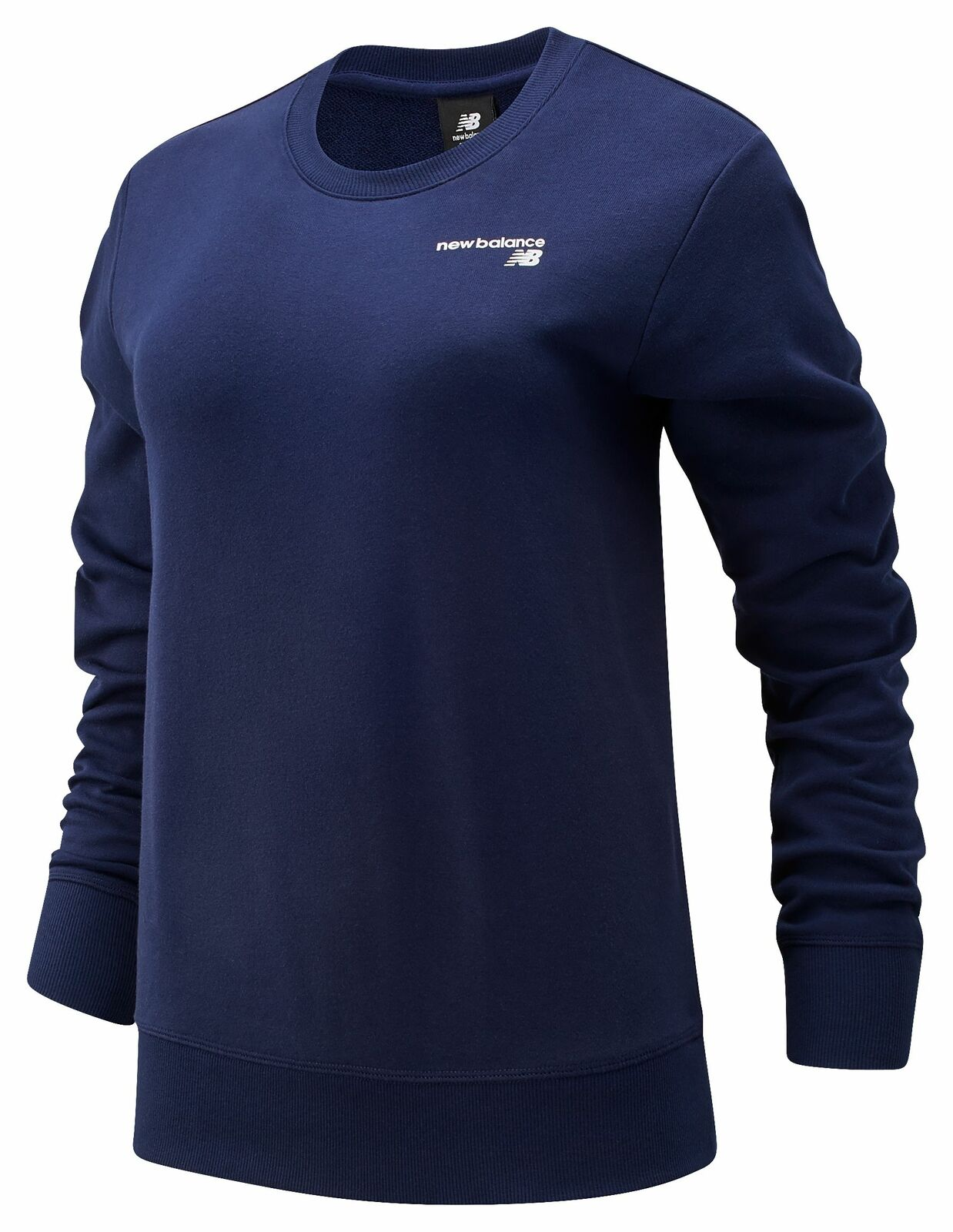 New Balance Women's NB Classic Core French Terry Crew Navy