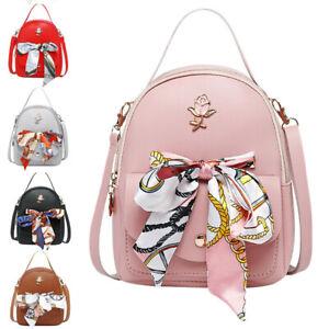 Fashion-Women-Mini-Backpack-Travel-Leather-Handbag-Small-Rucksack-Shoulder-Bags