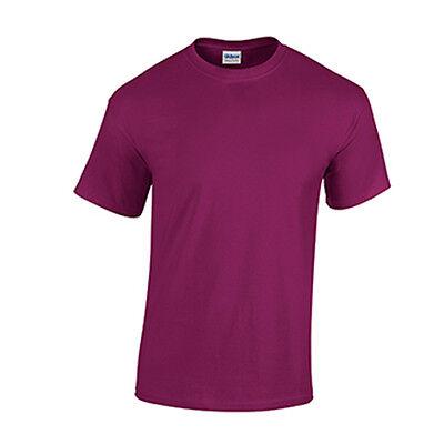 Berry LOW PRICE Blank Men/'s T Shirt Plain Work Mens Gildan Tee