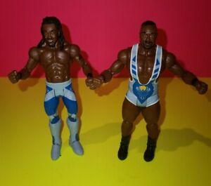 WWE-Mattel-Basic-Series-New-Day-Kofi-Kingston-Big-E-Figure-Lot