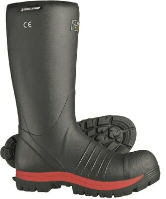 Work Boots & Shoes Skellerup Quatro Insulated Safety Welly Wellington Boot Wellies 6-13 Midsole Strong Resistance To Heat And Hard Wearing Gardening Boots & Shoes