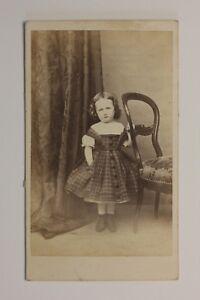 Ninita-Por-Tournier-DE-Aguila-Francia-CDV-Foto-Vintage-Albumina-c1860