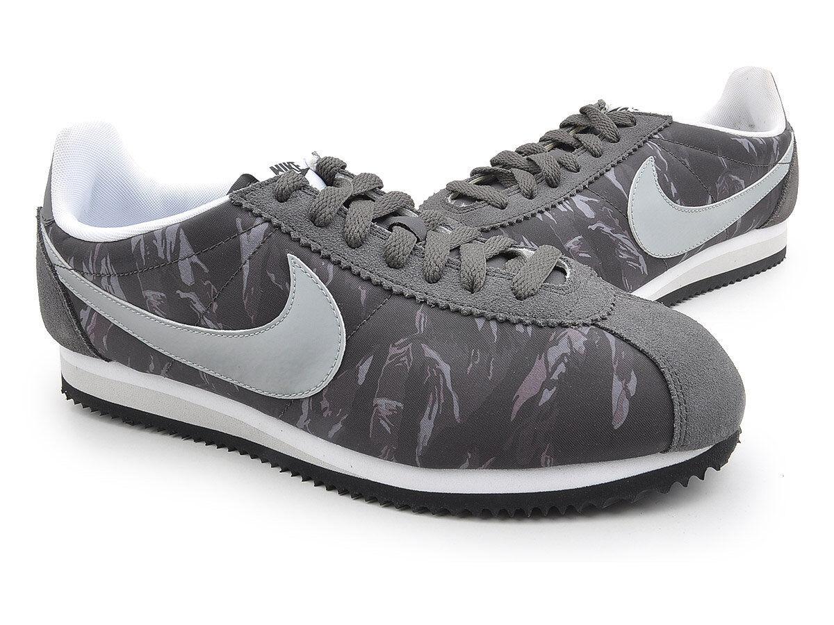 Nike Men's Classic Cortez Nylon PRM shoes shoes shoes - Charcoal Camo - UK 6 - New 63a8bf