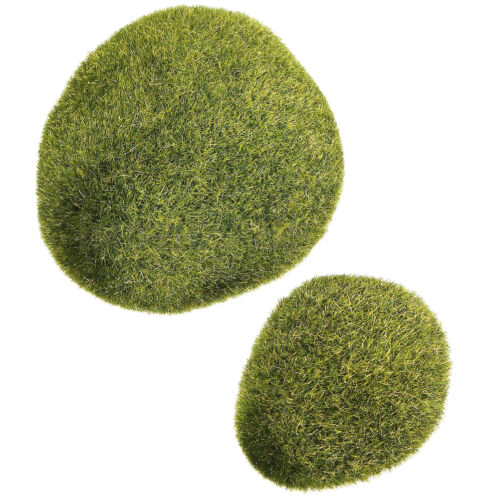 Marimo Stein Moos Miniatur Puppenhaus Garten Handwerk Fee Bonsai Pfla X