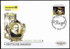 BRD 2009: Deutsche Malerei! Post-FDC Nr. 2761 mit Berliner Ersttagsstempel! 1610