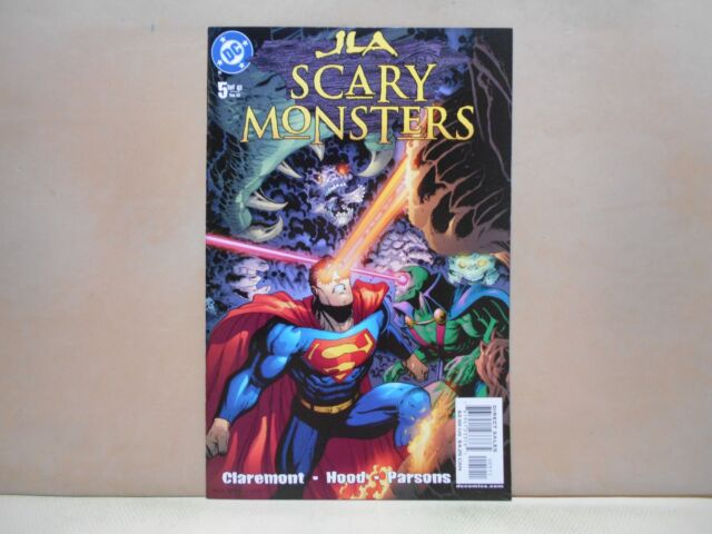 JLA: SCARY MONSTERS #5 of 6 2003 DC Comics 9.0 VF/NM Uncertified