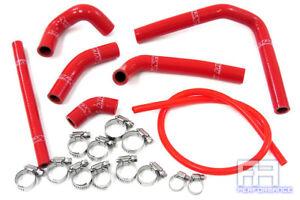 Silicone Radiator Hose Kit for Honda CR250R HPS 57-1233-RED
