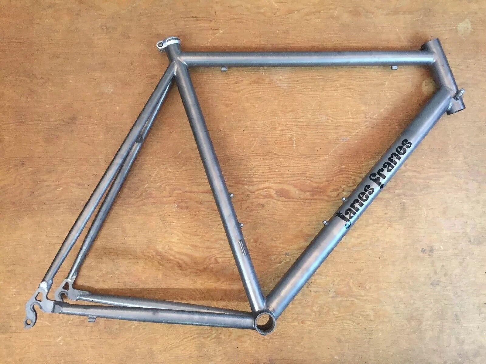 James Frames Ti Titanium Road Bike Frame 56cm