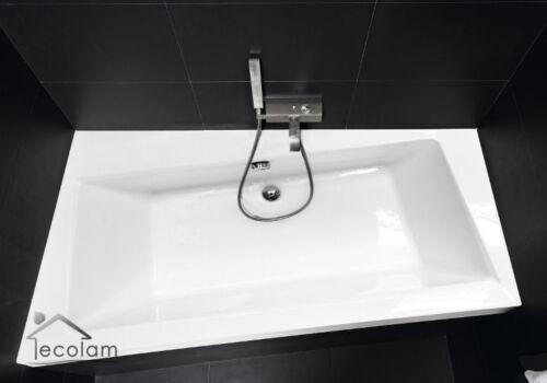Badewanne Eckwanne Acryl 160x100 Styroporverkleidung 2 x Kopfstütze Ablauf links