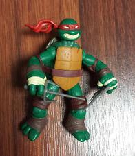 Teenage Mutant Ninja Turtles Basic Raphael Action Figure Playmates TMNT USED JC