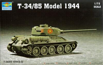 Trumpeter 07209 1//72 Russian T-34//85 Model 1944
