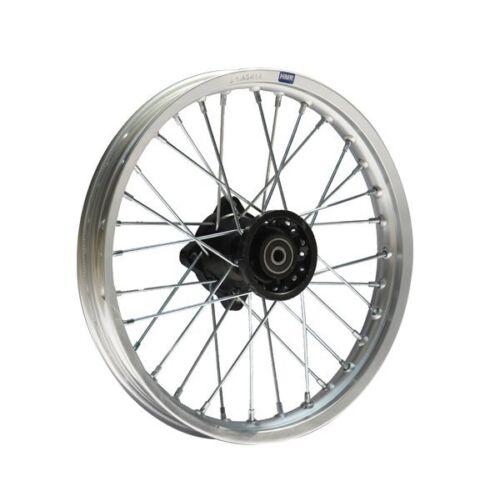 HMParts Pit Dirt Bike Cross Alu Felge eloxiert 14 Zoll vorne silber 12 mm Typ2