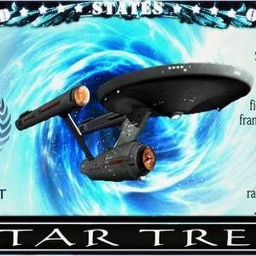 Star Trek Original Series Million Dollar Bill Funny Money Note with FREE SLEEVE