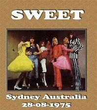 The SWEET LIVE IN SYDNEY AUSTRALIA 1975 CD