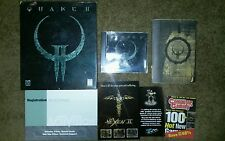 Quake II (PC, 1997) computer pc video game vintage id collector's item rare lot